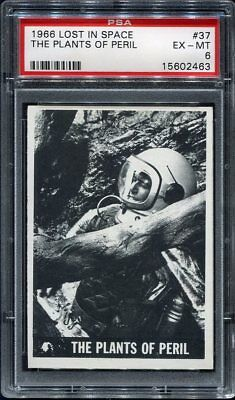 1966 Lost in Space #37 The Plants of Peril PSA 6