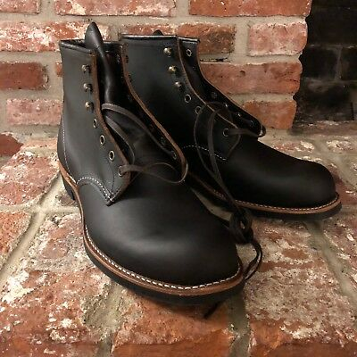 250a344879 RED WING HERITAGE Blacksmith Boots Black Prairie 3345