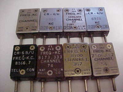 Large Lot Of 5 To 8 Mhz Range Ft-243 Crystals (Good Test On All)