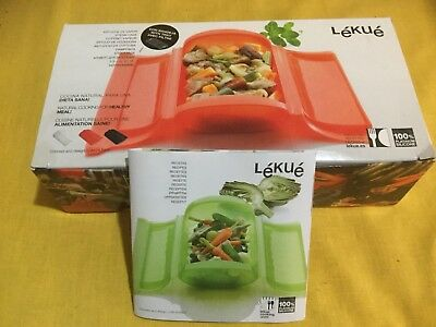 Lekue 1-2 Person Steam Case With Draining Tray