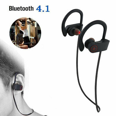 IP68 Waterproof Bluetooth 4.1 Headsets for Swimming Wireless Headphone Earpiece