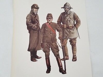 WW2 Japanese Army Uniform Print by Malcolm McGregor and Andrew Mollo WWII