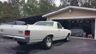 1971 Chevrolet El Camino 350 1971 elcamino numbers match engine and trans