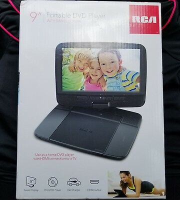 RCA 9 LCD Portable DVD Player With AC Car Adapters