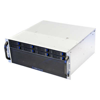 NORCO RPC-4308 No Power Supply 4U Rackmount Server Chassis (Black)