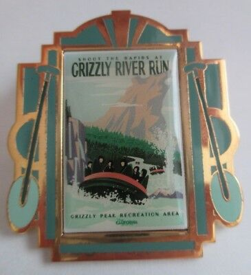 Disney Pin - DCA Poster Boxed Set - Grizzly River Run Only LE #96209