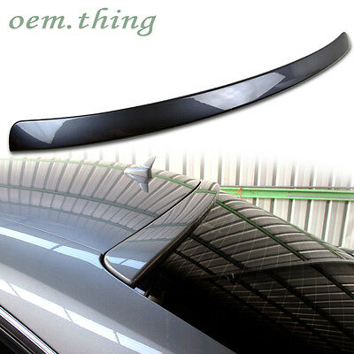 Painted Audi A4 B8 4Dr Roof Spoiler Wing 2009-2012 #lx7Z ○
