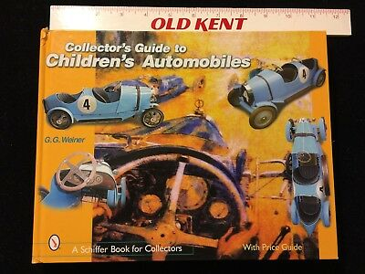 Collector's Guide to Children's Automobiles by G. G. Weiner - Pedal Cars