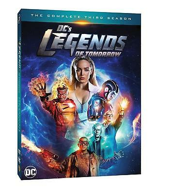 Dc's Legends Of Tomorrow Season 3 Dvd New Sealed The Complete Third Season Cw