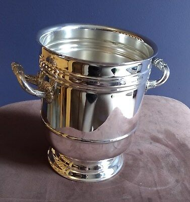 Vintage French Christofle Silver plated Ice Bucket