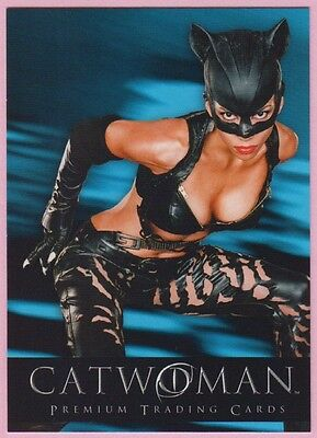 2004 Inkworks CATWOMAN Premium Trading Cards Halle Berry Promo Card Pi