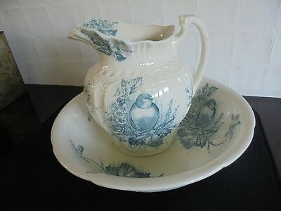 Vintage wash jug and bowl - postage available
