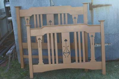 Antique Bed Head and Bed Footer