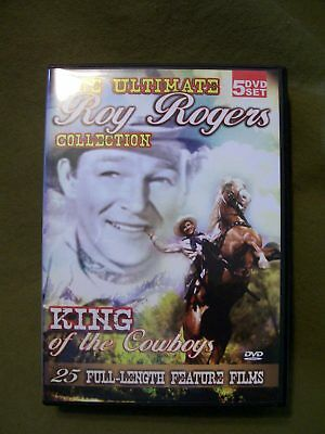 The King Of The Cowboys - The Ultimate Roy Rogers Collection (5 DVD) Full-length