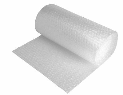 """Bubble Roll Padding Ship 1/2"""" x 12"""" Wide Large Pink Bubbles 125ft"""