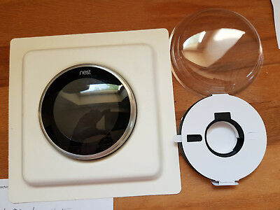 nest Selbstlernendes Thermostat 3. Generation stainless  ohne Heatlink