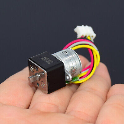 Micro 15MM DC 6V 2-Phase 4-Wire Gear Stepper Motor Mini Precision Metal Gearbox