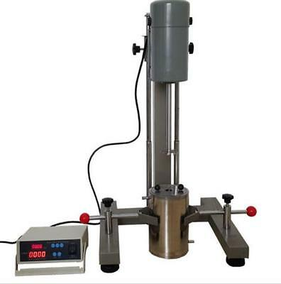 Digital Display High-speed Disperser Lab Homogenizer Mixer FS-1100D 220V t