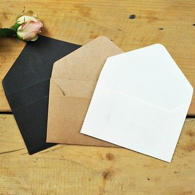 20/40/60 Retro Small Envelopes For Greeting Cards 105*67mm Creative Quality