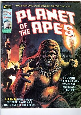 PLANET OF THE APES No 13 - Marvel/Curtis magazine October 1975