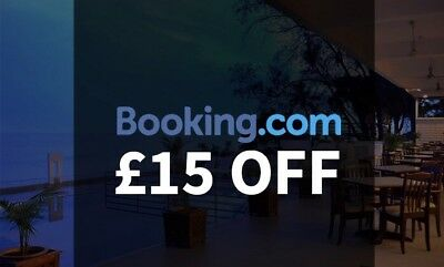 Free! Booking.com £15 Off Reward Voucher Coupon Promotion Credit Discount Code