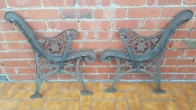 Cast Iron Seat Ends (Heavy)