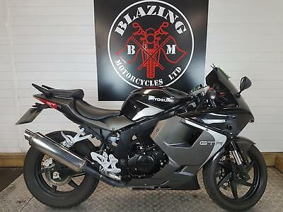 Hyosung GT 125 RC learner legal motorcycle