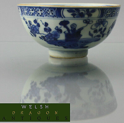 Museum High Quality Chinese 17Th Century Kangxi And Of Period Blue & White Bowl