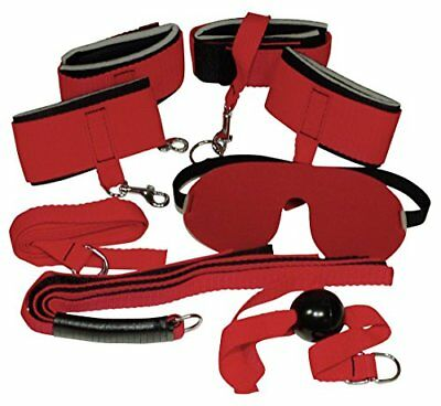 rosso Bad Kitty - Set Red Giant - Bondage Soft Salute e bellezza (0zs)