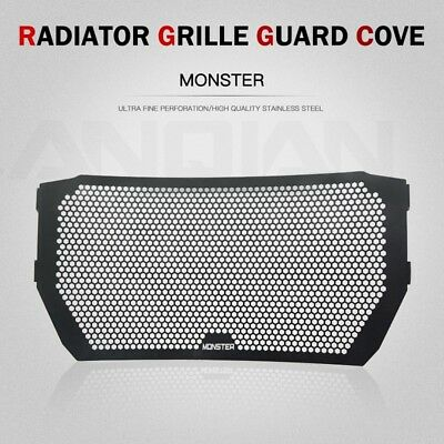 Radiator Grill Guard Cover For Ducati Monster 821 1200 1200s 2014-16