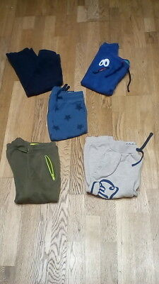 boys clothes joggers bundle of 5 pairs age 3-4 years