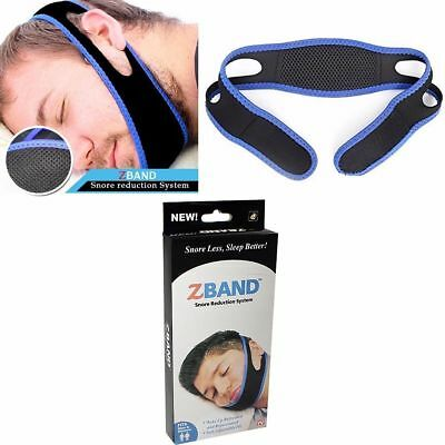 Anti Snoring Chin Strap Belt Stop Snore Anti Apnea Aid Device Jaw Support