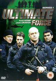 Ultimate Force Complete 1st Series Dvd Ross Kemp Brand New & Factory Sealed