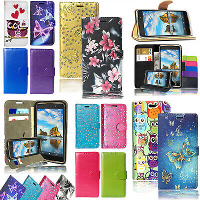 For Huawei P Smart / Honor 9 Lite - Flip Wallet Leather Phone Stand Case Cover