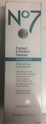 boots no 7 protect and perfect intense body serum 200ML