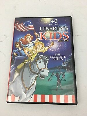 Libertys Kids - The Complete Series (DVD, 2013, 4-Disc Set)