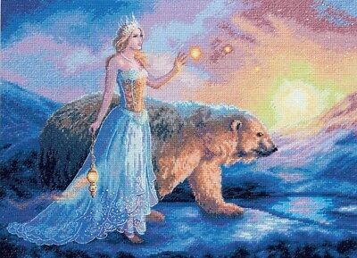 "DIMENSIONS GOLD COLLECTIONS ""AURORA""CROSS STITCH KIT Kreuzstich STICKPACKUNG"