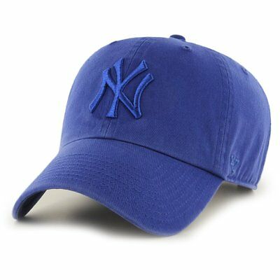 47 Brand Relaxed Fit Cap - CLEAN UP New York Yankees royal
