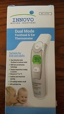 Innovo Medical Forehead and Ear (Dual Mode) Thermometer