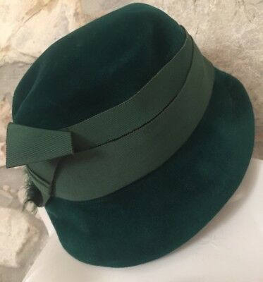 LOTTO 2 CAPPELLI DONNA VINTAGE Made In Italy