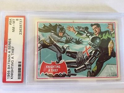 1966 Batman #9A Knighting a Thief ** PSA 8 NM-M
