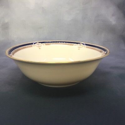 "Lenox BUCHANAN Round Serving Bowl 9 1/2"" MINT CONDITION 809105"