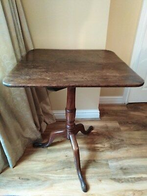 Antique Oak Occasional Side Table