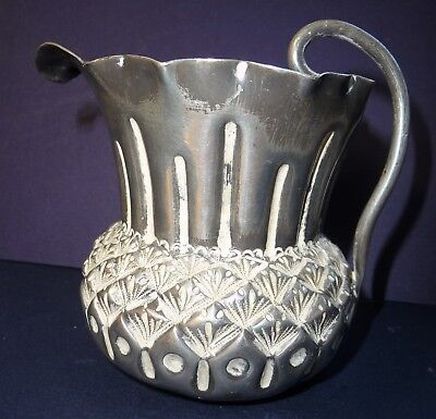 Antique Vintage Silver Plate Thistle Jug Art And Crafts L&co 1690 Epbm Liberty?