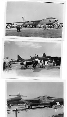 15 Black & White Air Show Photos Early 1950's