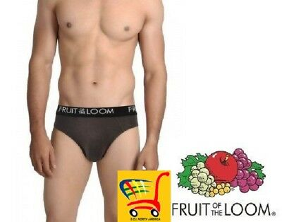 Fruit of The Loom Men's Cotton Blend Bikinis in Famous Brand Packaging