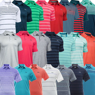Under Armour Polo Shirt Mens Golf Reduced To Clear Clearance Sale!!