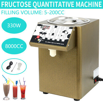 Bubble Tea Equipment Fructose Quantitative Machine Fructose Dispenser 110V