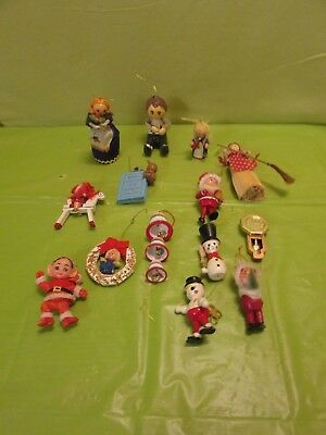 Lot Of 14 Vintage Christmas Ornament