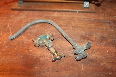 Victorian Antique Architectural Hardware Gas Valve Shut Off Lot of 2